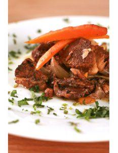 סיכבאג' - תבשיל בשר בחומץ