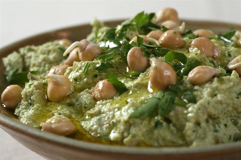 חומוס - סדנת בישול בריא מזון מקומי